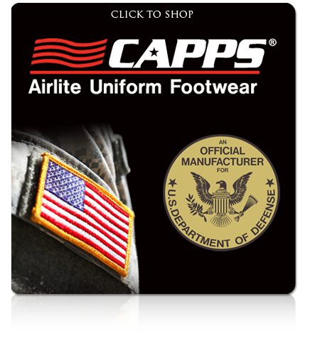 Capps Airlite Unitorm Footwear Made in USA
